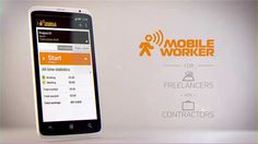 Mobile Worker | Time tracking and document management App