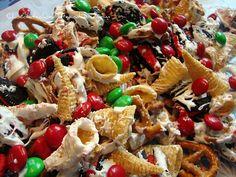 Christmas White Trash - let the seasonal recipes commence!