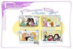 Pocket Princess Comics, Pocket Princesses, Disney Princesses, Disney Memes, Disney Cartoons, Disney And Dreamworks, Disney Pixar, Amy Mebberson, Cute Disney