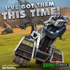 """D-Structs has another evil plan up his metal sleeve. Will the #Dinotrux be able to out-trux him this time? Find out in the """"Pit"""" episode on Netflix."""