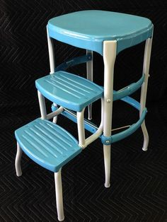 01b   Here Is An After Shot Of My First Restored Cosco Step Stool. Still