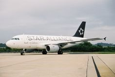 US Airways Star Alliance plane when they were hopeful for a merge with UA.