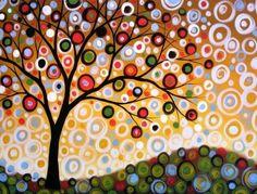 Amy Giacomelli pintura impresión... Un día de verano--impresión brillante 8 x 10