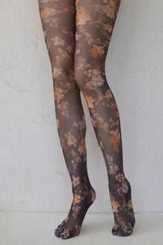 Tabbisocks Heirloom Printed Pantyhose
