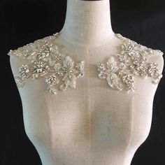 Cheap Rhinestones, Buy Directly from China Suppliers:Rhinestone bodice applique, crystal applique, crystal bodice applique for wedding dress, heavy bead bodice applique ZL5#