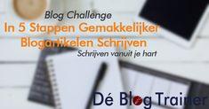 Bloggen was nog nooit zo hot. Het helpt je jouw expertstatus op te bouwen en je zichtbaarheid te vergroten. In deze Blog Challenge leer je schrijven vanuit je hart en hoe je in 5 stappen gemakkelijke je blogartikelen schrijft.