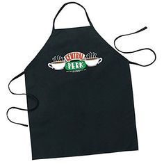 Icup Friends Central Perk Apron, Clear