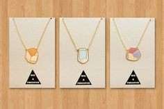 Hug a Porcupine : geometric rock necklaces | Sumally