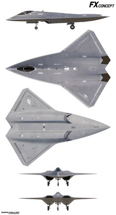 Concept for a next generation air dominance.