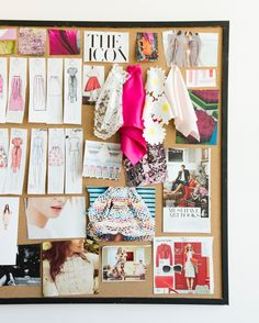 Rachel Parcell / Pink Peonies Office Reveal - The most creative designs Mode Inspiration, Design Inspiration, Inspiration Boards, Fashion Design Sketchbook, Textiles Sketchbook, Art Sketchbook, Design Studio Office, Fashion Room, Space Fashion