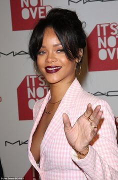 rihanna in pink suit - Google Search