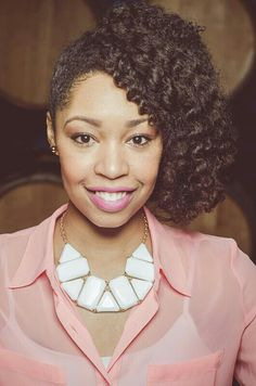 She is my true hair inspiration.. Our curl pattern  is very similar and her styles are awesome!