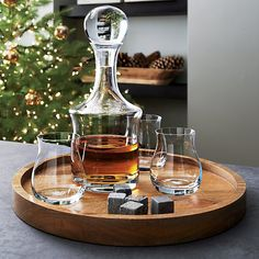 Shop Canada Glencairn Whiskey Glass.  Canada Glencairn whiskey glass's narrow neck concentrates aroma while large bowl warms single malts and complex blends for a superior tasting.  Great gift.