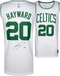65eb86b6f Gordon Hayward Boston Celtics Autographed Fanatics White Fastbreak Jersey   sportsmemorabilia  autograph  basketballjersey