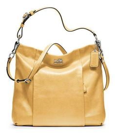 Vintage Coach Leather Shoulder Bag #Coach #ShoulderBag