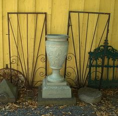 Would love to find a place for a find like this pair of gates