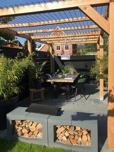 Pergola Vines Lights - Pergola Patio Furniture - Covered Pergola DIY - Pergola Inspiration Decks - Backyard Pergola With TV - Pergola Plans