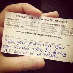 There are some cops that feel that honesty is the best policy: | 25 Pictures That Show That Good Cops Actually Do Exist