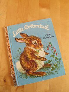 A Little Golden Book  Little Cottontail by TheBigBlueMarble