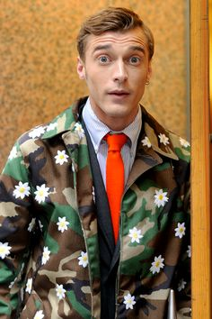 Mark McNairy 2012 Spring/Summer Camouflage/Flower Collection