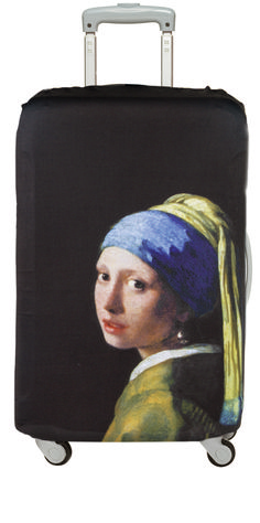 luggage cover - girl with pearl earring - Vermeer