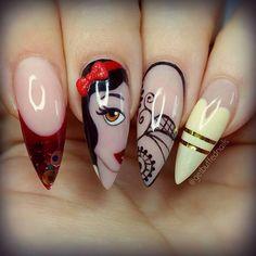 Get buffed nails.
