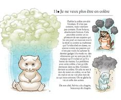 """Exercices d'éveil pour petits chatons """"Je ne veux plus être en colère""""  http://www.editions-du-relie.com/Exercices-d-eveil-pour-petits.html"""