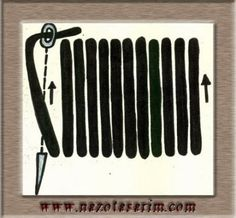 Susma Lesage, Magnetic Knife Strip, Knife Block, Beaded Embroidery, Needlework, Stitching, Needlepoint, Embroidery Stitches Tutorial, Embroidery