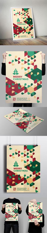 Modern Christmas Flyer on Behance