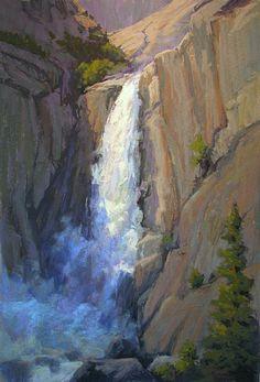 Granite Crescendo by Kim Lordier Pastel ~ 36 x 24