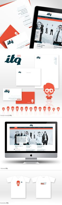 Restyle identity, branding and corporate communication concept for ITQ by Sixtyseven on Behance.