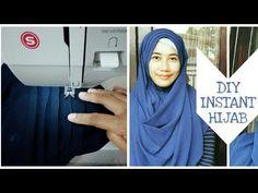 Tudung Shawl, Baby Hijab, Diy Clothes Tutorial, Sewing Scarves, Instant Hijab, Hijab Style Tutorial, Hijab Style Dress, Turban Hijab, Designs For Dresses