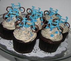 Bike Cupcakes