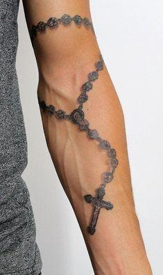 tattoo designs men forearm & tattoo designs - tattoo designs men - tattoo designs for women - tattoo designs unique - tattoo designs men forearm - tattoo designs men sleeve - tattoo designs men arm - tattoo designs men small Roseary Tattoo, Hand Tattoos, Tattoos Arm Mann, Forarm Tattoos, Cool Forearm Tattoos, Rose Tattoos, Key Tattoos, Bracelet Tattoos, Skull Tattoos