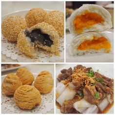 Weekend rituals with the famjam - dim-summing at the Chinese Cultural Centre. Super impressed that my faves - the deep fried black sesame balls fried turnip pastries and sweet creamy egg yolk buns -are consistently good. #yyceats #yycfood #yycsbest #dimsum #chinesefood #chinatown #radishpastry #blacksesameballs #liushabao #saltedeggyolkcustardbun