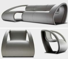 Super Modern Couch And Chair By Antiveda
