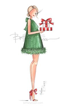 Unique Christmas Cards, Xmas Cards, Christmas Art, Greeting Cards, Christmas Presents, Cute Wallpaper Backgrounds, Cute Wallpapers, Birthday Fashion, Illustration Mode