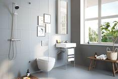 Bathroom of my dreams Bathroom Styling, Bathroom Interior Design, 3d Visualization, Living Styles, Basement Bathroom, Home Studio, Clawfoot Bathtub, House Tours, Beautiful Homes