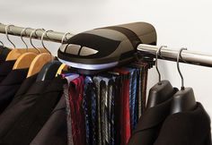 Motorized Tie Rack | 31 Insanely Clever Products To Organize Your Whole Life