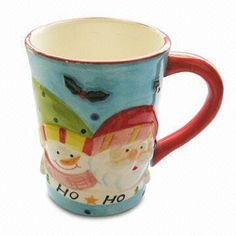 Ceramic Mug, Measures 13 x 8.6 x 11.5cm, Suitable for Promotional Gifts