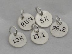 start a charm bracelet for a beginner runner and help inspire her to keep adding distance