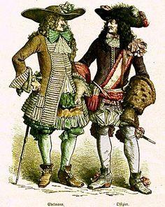 1660 french fashion plates - Google Search