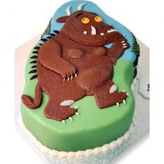 Gruffalo Cake freshly made, delicious and delivered