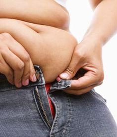 Is it just stubborn fat or could it be... food allergies? Repin for some get-healthy inspiration.