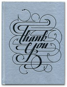 Typography ~ Ornate ~ Thank You