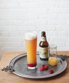 White IPA + Raspberry Beermosa — a Better Happier St. Sebastian Holy hell I want this immediately.