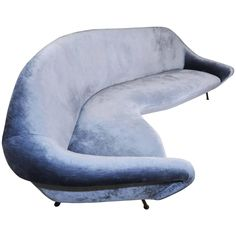 Check Out The Deal On Italian Curved Abstract Shaped Sofa At Eco First Art