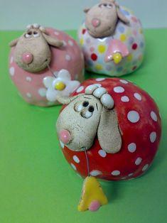 Prodané zboží od Akoča a Ufola Pottery Animals, Ceramic Animals, Clay Animals, Fimo Clay, Ceramic Clay, Ceramic Pottery, Clay Art Projects, Clay Crafts, Cerámica Ideas