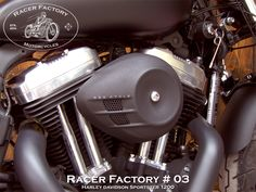 Filtre à air S&S RF#03 - Harley Davidson Sportster modèle Forty-Eight 1200 by Racer Factory