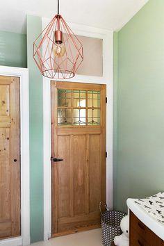 ¿Verde en una habitación? ¡Con luz natural SI! #green #decoration #home